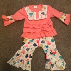 Matching Sets - Boutique 0-3 month outfit